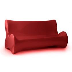 لينة أريكة الأريكة الأحمر فوندوم