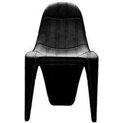 Empuxo de cadeira F3 preto