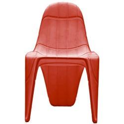 F3 Кресло Vondom красный