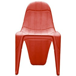 F3 Chaise Vondom Rouge