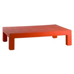 Jut Mesa 120 Table Basse Vondom Rouge