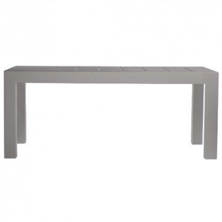 Jut Mesa 180 Vondom Grey Rectangular Table