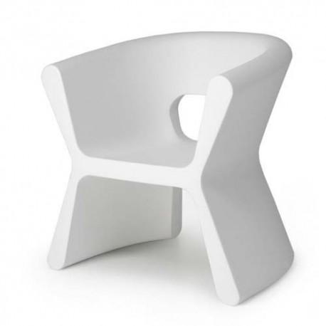 PAL furrow Chair Vondom white