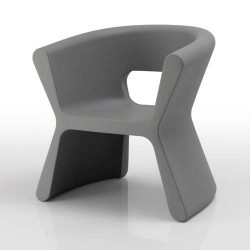 PAL furrow Chair Vondom grey