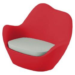 Sabinas sillón rojo de Vondom