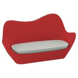 أريكة سبينس فوندوم أحمر