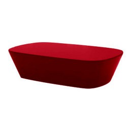 Mesa de centro Sabinas Vondom rojo