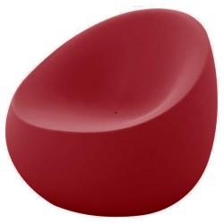 Sillón de piedra roja de Vondom