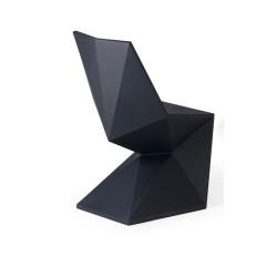 Negro Silla silla Vondom de vértice