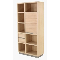 Library oak 1 door 2 drawers KosyForm