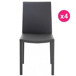 Set of 4 chairs Design grey KosyForm