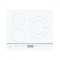 Table Induction Sauter SPI4360W Blanc avec 3 Foyers