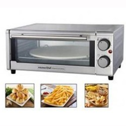 Oven pizza diameter 31cm KITCHEN Chief 1300W Inox GP-15AL-G
