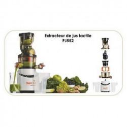 Extracteur de Jus SIMEO PJ552 Tactile avec Pressoir pour Fruits et Légumes