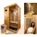Sauna a raggi infrarossi Courchevel 2 posti VerySpas