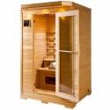 Sauna a raggi infrarossi Granada 2 posti VerySpas
