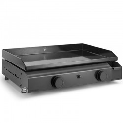 Plancha gas Forge Adour Base 2 6400 W 60 cm steel plate in enamelled cast iron burners