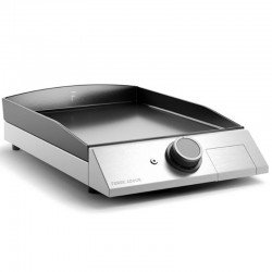 Plancha electric Forge Adour Domestic 2500 W plate in enamelled cast iron for inside and outside