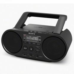 Radio Sony CD Lecteur MP3 Via Port USB Noir