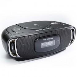 Thomson Radio CD Lecteur MP3 Bluetooth USB Noir