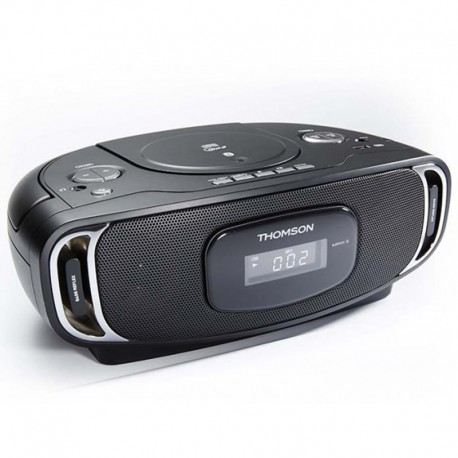 thomson radio cd lecteur mp3 bluetooth usb noir. Black Bedroom Furniture Sets. Home Design Ideas
