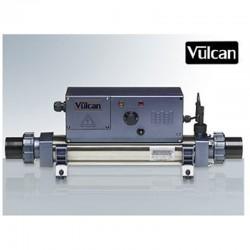 Vulcan heater analog titanium 6kW sort above ground pool and buried