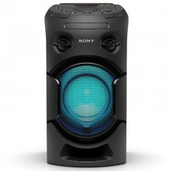 Channel Audio Sony MHCV21D portable with its powerful Spread Sound