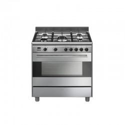 Smeg BG91X9 Elite Pro fogão Inox misto