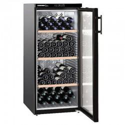 Liebher WKB3212 embeddable glass wine cellar 164 bottles