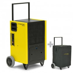 Dehumidifier professional Mobile Trotec TTK 655 S with protective cover