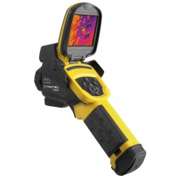 Trotec IC085LV measurement of Temperature 600 ° C thermal camera