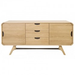 Oak and Metal 2 doors Floo KosyForm buffet