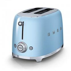 Grille-Pain Smeg TSF01PBEU Toaster Bleu Azur