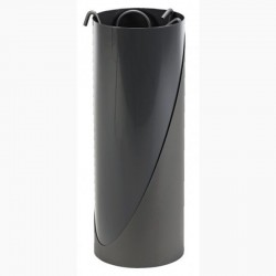 Serviteur Move Gris Sablé Intérieur Noir Ardoise avec Accessoires Gris Dixneuf Design