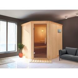 Sauna de vapor angular Zen 3-4 asientos - selección VerySpas