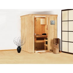 Sauna Vapeur traditionnel Finlandais 2-3 places Kubi Prestige - VerySpas Selects
