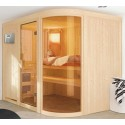 Steam sauna traditional Finnish 5 seater Spherium Prestige - exclusive VerySpas