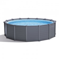 Intex Graphite 417x109 Round Tubular Pool