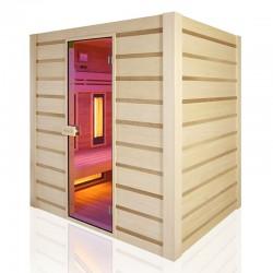 Sauna Traditionnel Hybride Combi Holl's