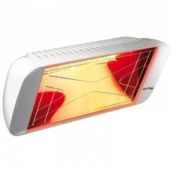 Heating infrared Heliosa Hi Design 66 white Carrara 1500W IPX5