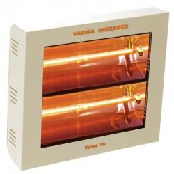 暖房の赤外線ヴァルマ 400 2 クリーム 3000 ワット