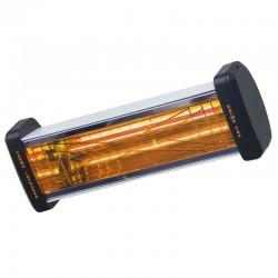 Riscaldatore a raggi infrarossi di Varma 301 nero 1500 Watt