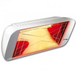 """تدفئة الأشعة تحت الحمراء 66 """"هيليوسا مرحبا تصميم"""" الأبيض كارارا 2000W"""