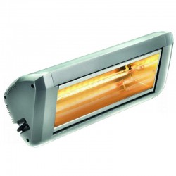 Heating Electric infrared HELIOSA model 9 Silver - 2200 W IPX5