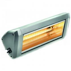Chauffage Electrique Infrarouge HELIOSA Modèle 9 Silver - 2200 W IPX5