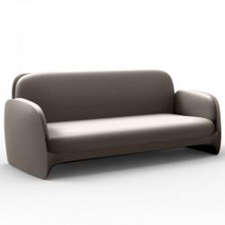 Couch sofa Vondom Pezzettina taupe mat