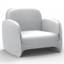 Sessel Vondom Lounge Pezzettina weiße Matte