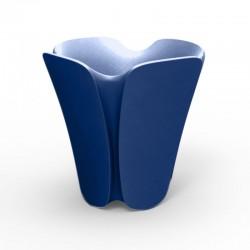 ポット Jardinière デザイン Pezzettina Vondom ブルー50x50xH85