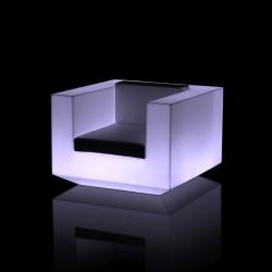 Fauteuil Lumineux Vondom Vela Blanc avec LED