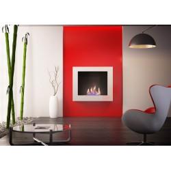 Fireplace bio ethanol Modern Dual White Neoflame